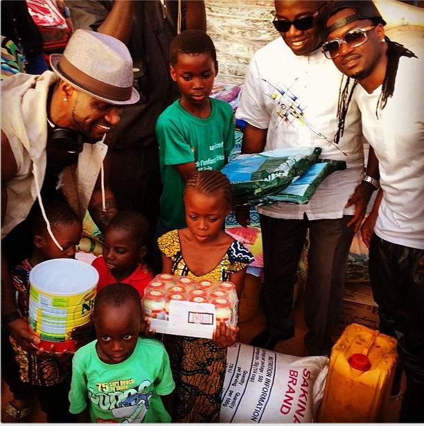 P-Square gives back to society in Niger Republic(Photos)11