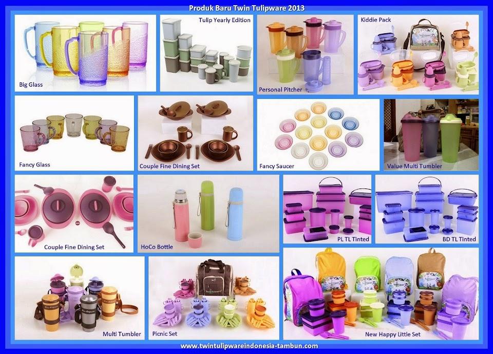 koleksi produk baru tulipware 2013