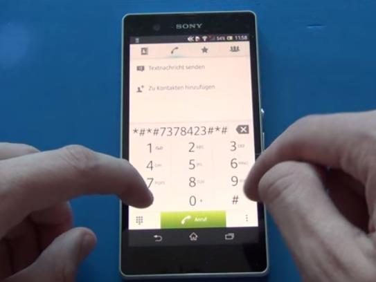 Menu Rahasia Pada Sony Xperia Z