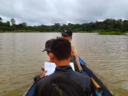Memasuki Dnau Nange (Muara) Danau Butong
