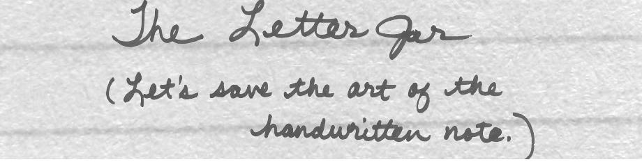The Letter Jar