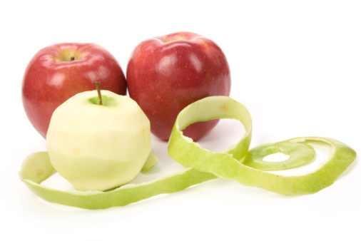 apples- قشر التفاح يذيب الدهون ويقضى على البدانة
