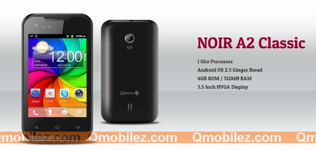 QMobile Noir A2 Classic price in pakistan, Q Mobile Noir A2 Classic in