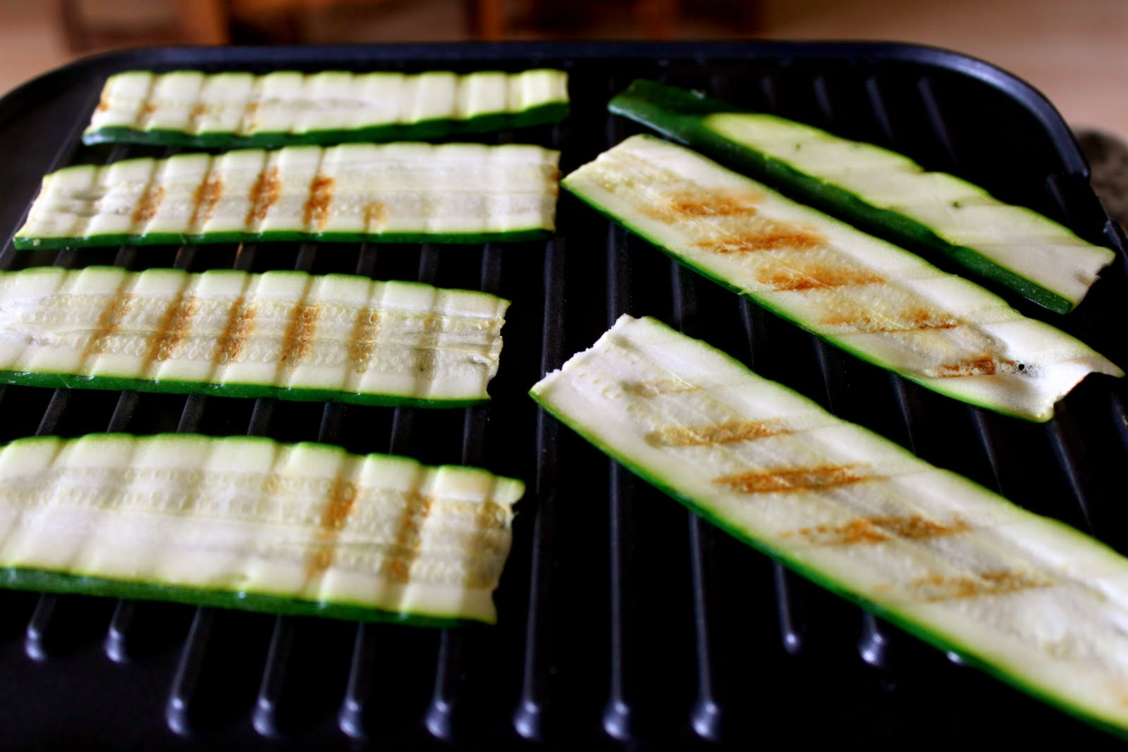 Grilled Zucchini Roll Recipe with Herbed Goat Cheese