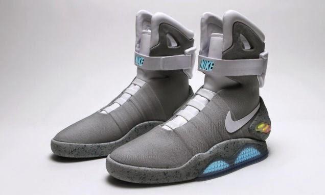 """Los zapatos deportivos de """"Volver al Futuro 2"""" Nike Air Mag, saldrán a la venta este año"""