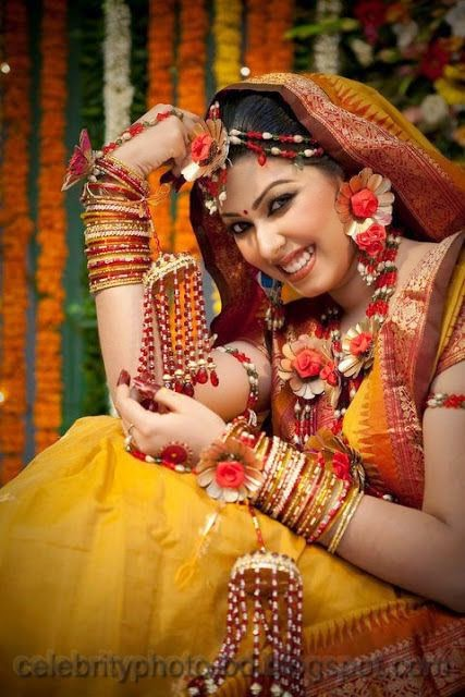 Latest+Photo+Tips+For+Looking+Hot+And+Beautiful+In+Gaye+Holud+Festival005