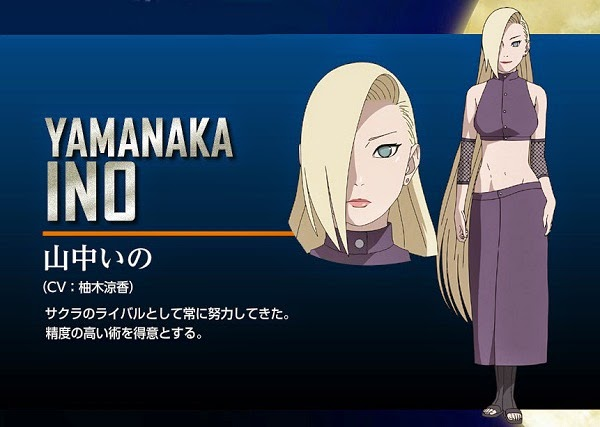 Yamanaka Ino The Last: Naruto the Movie