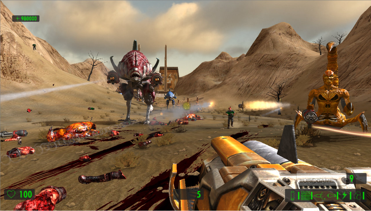 Free Download Game Serious Sam Hd The First Encounter