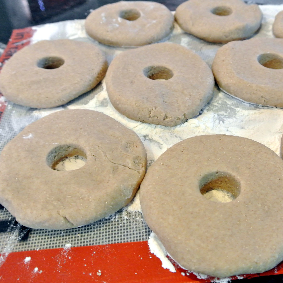 how to make bagels smooth