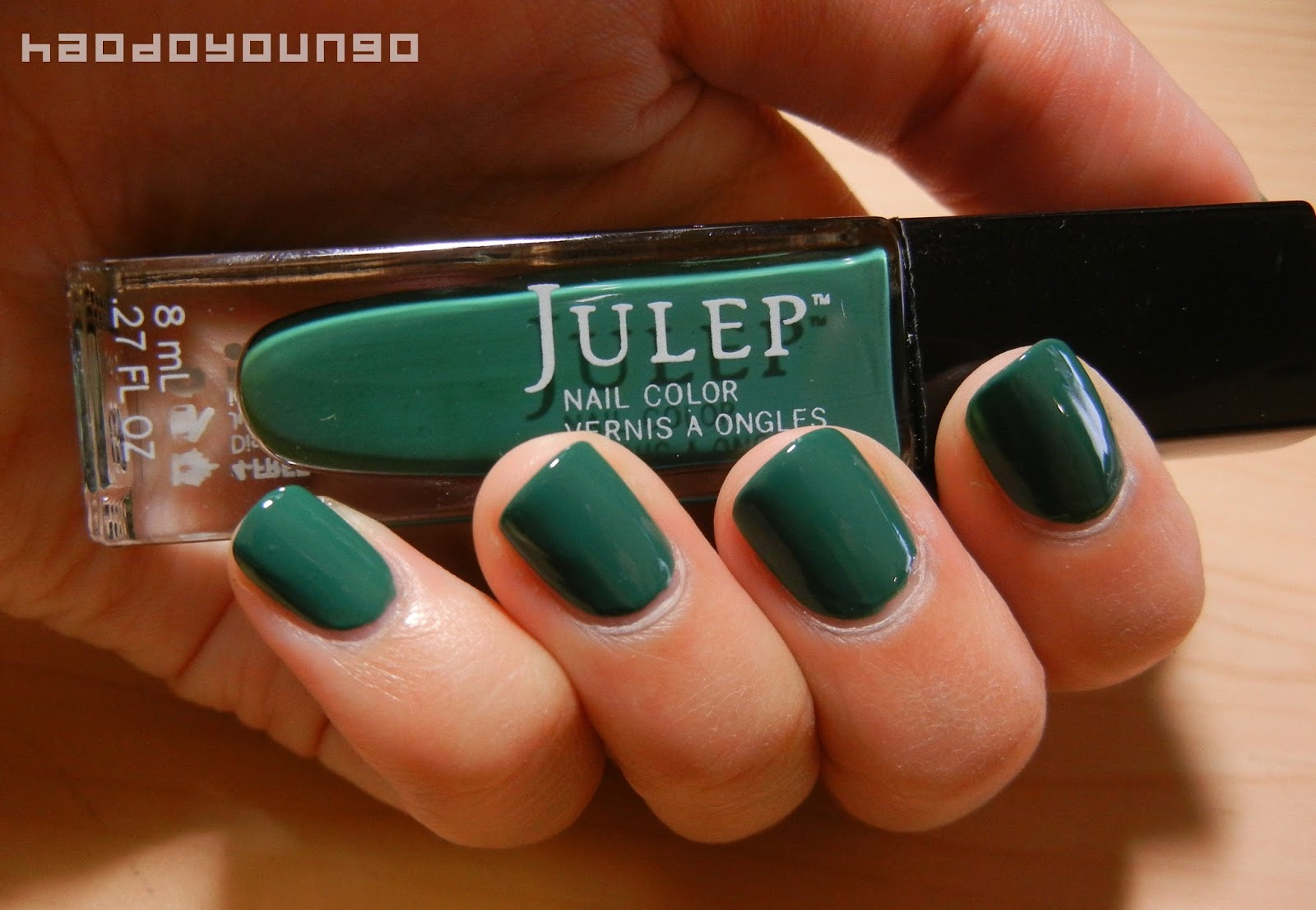 Review & Swatches: Julep Nail Polish in Hoch | haodoyoungo