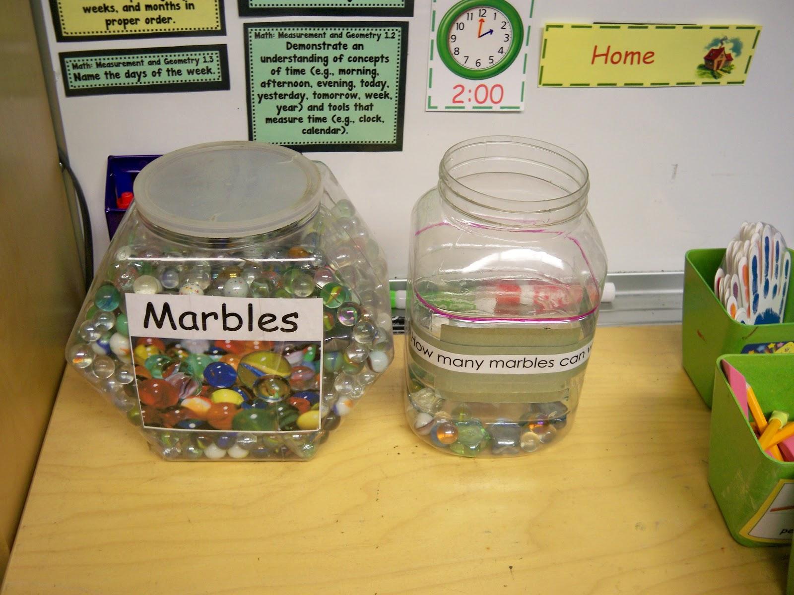 Classroom Marble Jar Ideas ~ Kindergarten schmindergarten classroom management