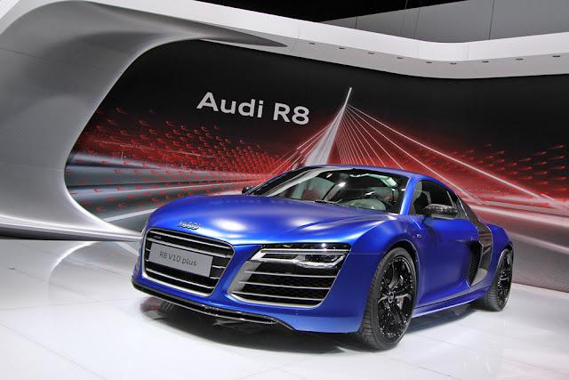новый Audi R8 2013
