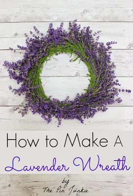 how-to-make-lavender-wreath