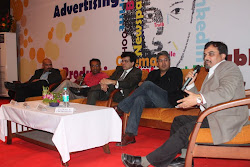 With media big wigs at Media PulseISB&M, Pune                        , Pune