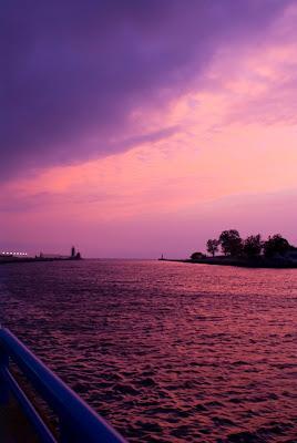 Grand Haven Pier, Sunset,