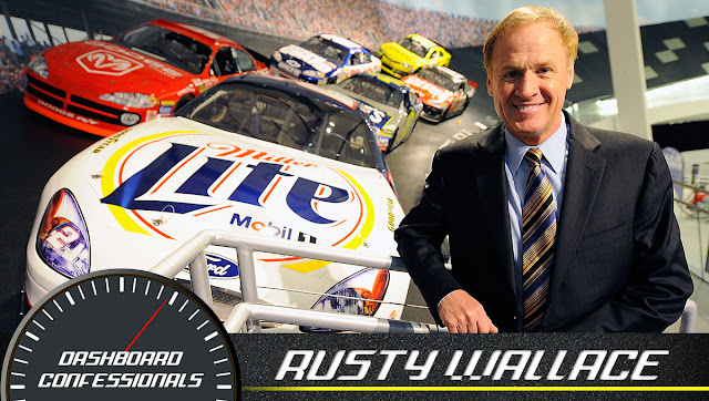 Rusty Wallace dishes on day racing at RIR