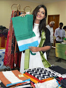 Neha Deshpande at Pochampally IKAT Art Mela 2015 Photos-thumbnail-1