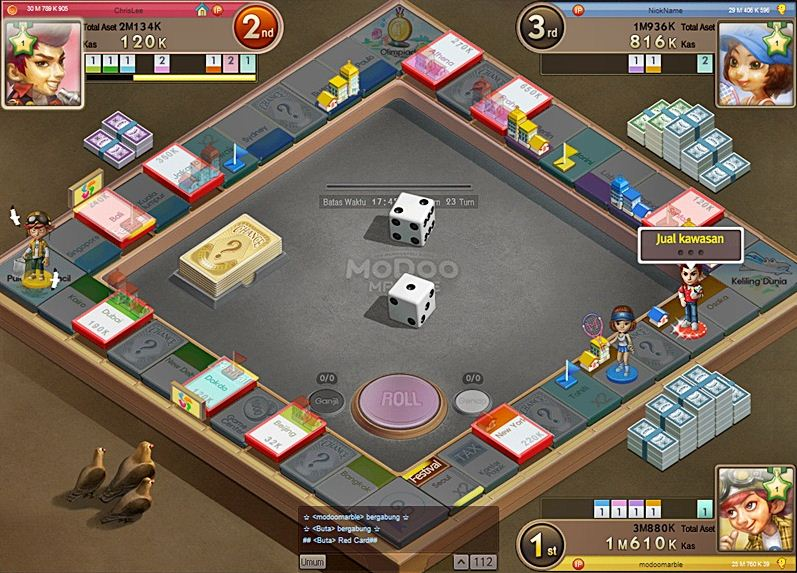 Download Game Modoo Marble Offline Indonesial blazakar 1