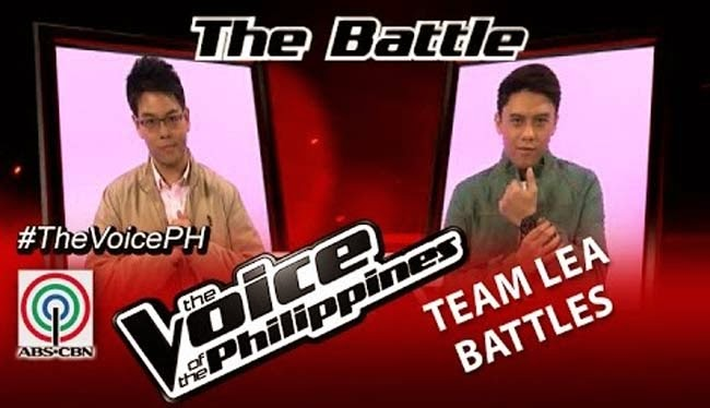 Watch Phillipe Go vs Timmy Pavino on The Voice of the Philippines Team Team Lea's Battles Round