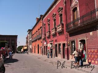voyage mexique blog paysage san miguel allende colonial photo