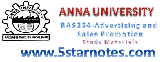 advertisement and sales promotion mba question papers