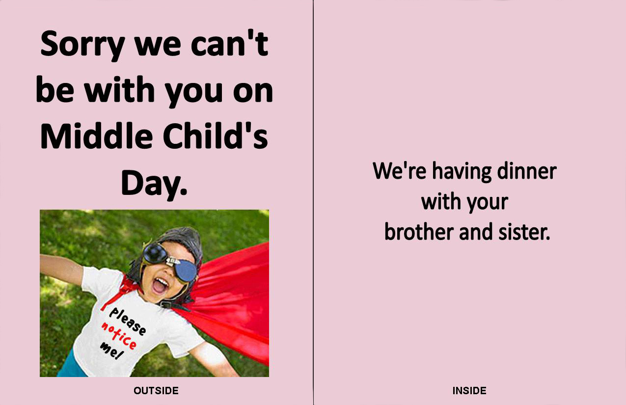Smack dab a middle childs blog who needs hallmark the midmark smack dab a middle childs blog m4hsunfo