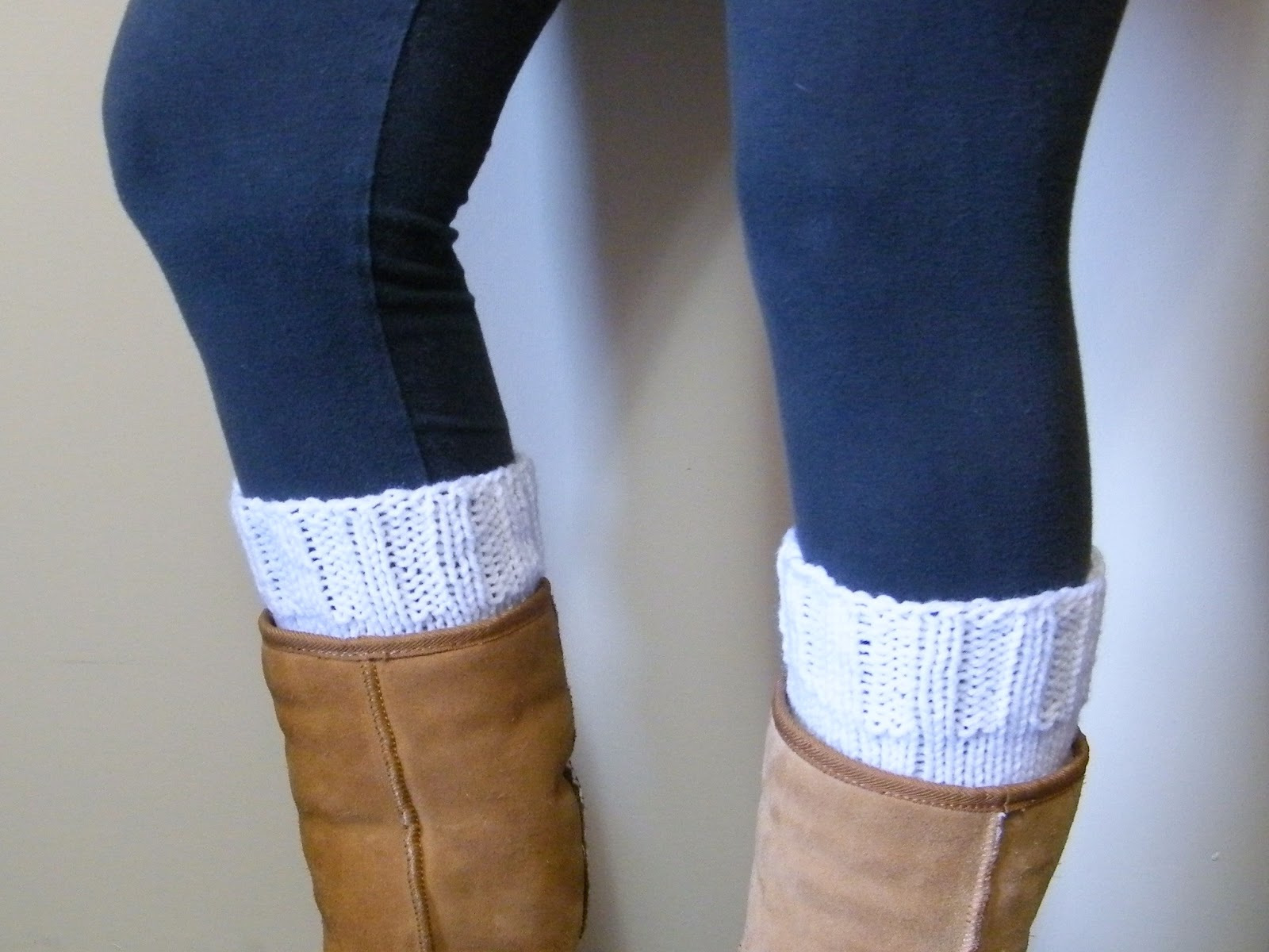 Knitting Patterns Free Boot Cuffs : Lewis Knits: Basic Boot Cuff Knitting Pattern