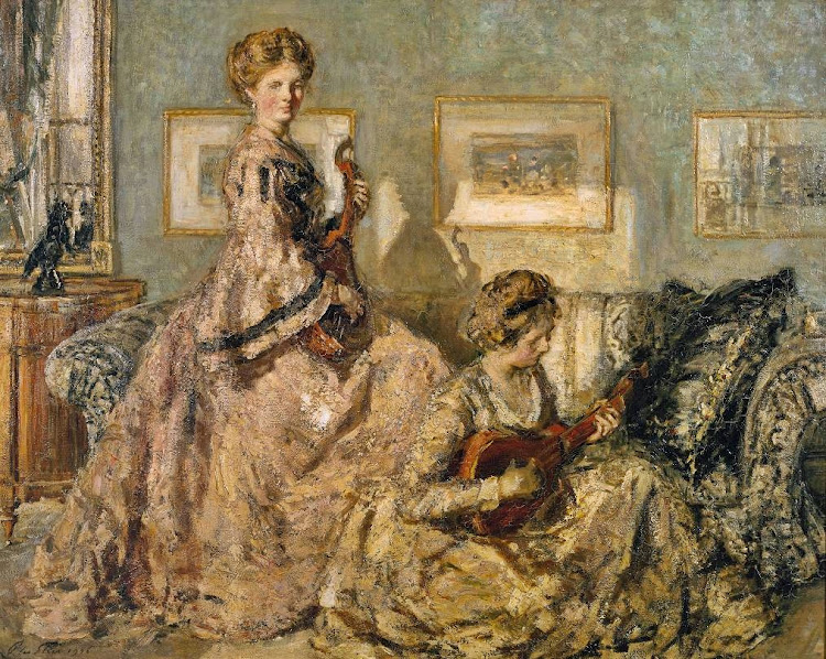 Philip Wilson Steer - The Music Room, 1905-1906