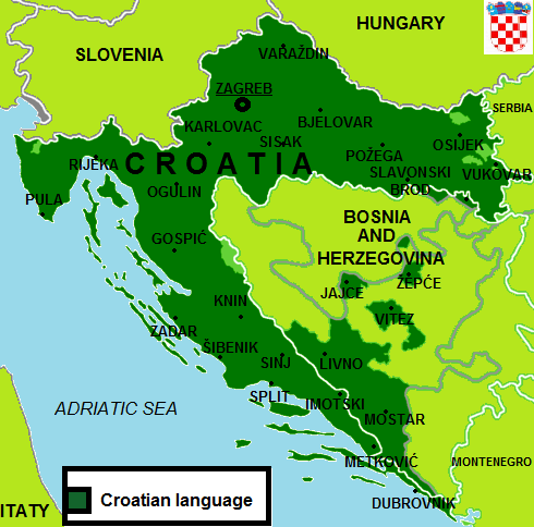 Official distribution croatian language