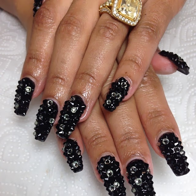 Blac Chyna nail art