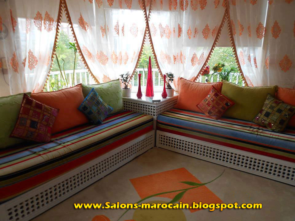 Salon d coration maison 2014 - Decoration salon marocain moderne ...
