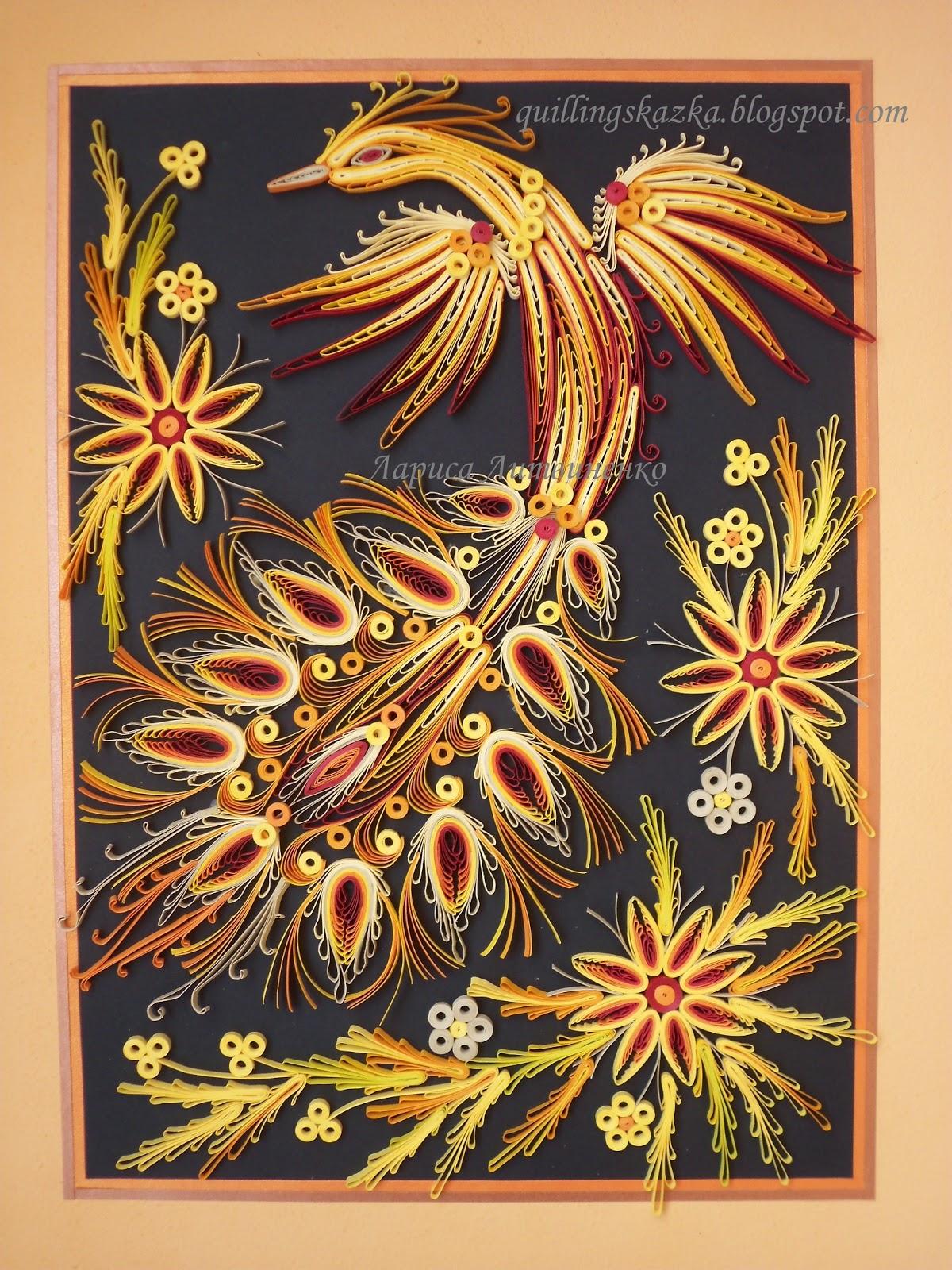 Поделки - птицы своими руками из разных материалов. Мастер 17