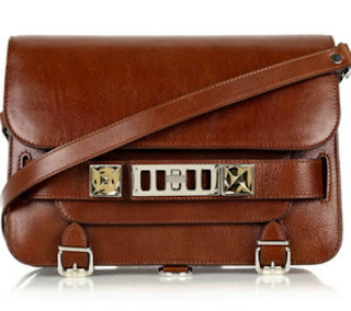 Proenza schouler, Ps 11, Proenza schouler ps 11, brown bag, brown shoulder bag, handbag