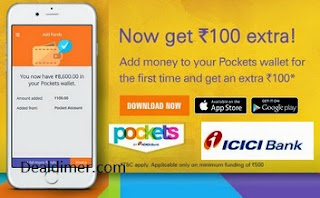 ICICI Bank Pockets Offers