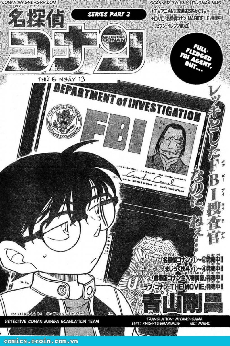Detective Conan - Thám Tử Lừng Danh Conan chap 606 page 1 - IZTruyenTranh.com