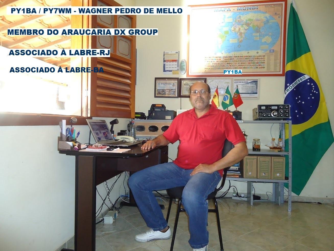 WAGNER - MEMBRO DO ARAUCÁRIA DX GROUP