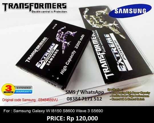 BATERE TRANSFORMER SAMSUNG GALAXY