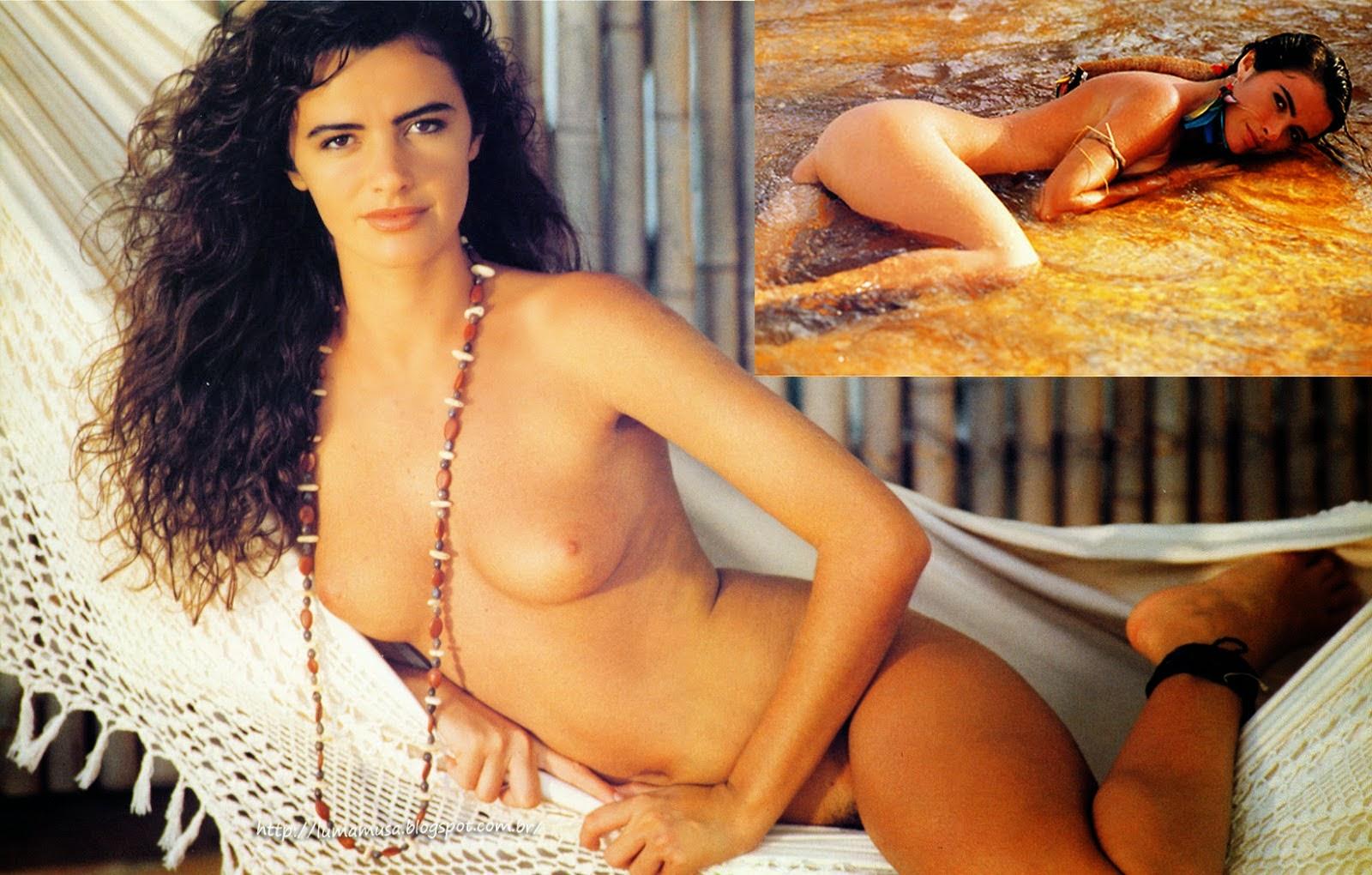 Revista Sexy Maryeva Oliveira Nudelas