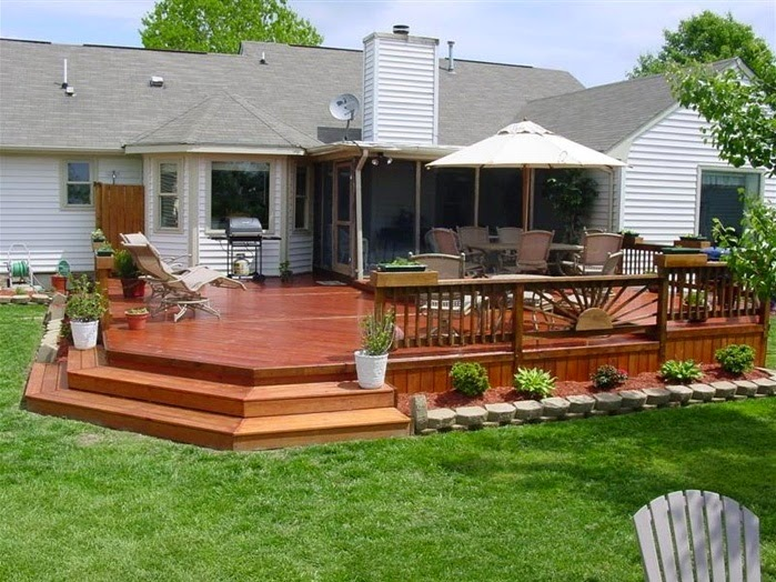 Deck Front Entrance Ideas