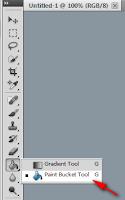 Cara mengganti warna Background Photoshop