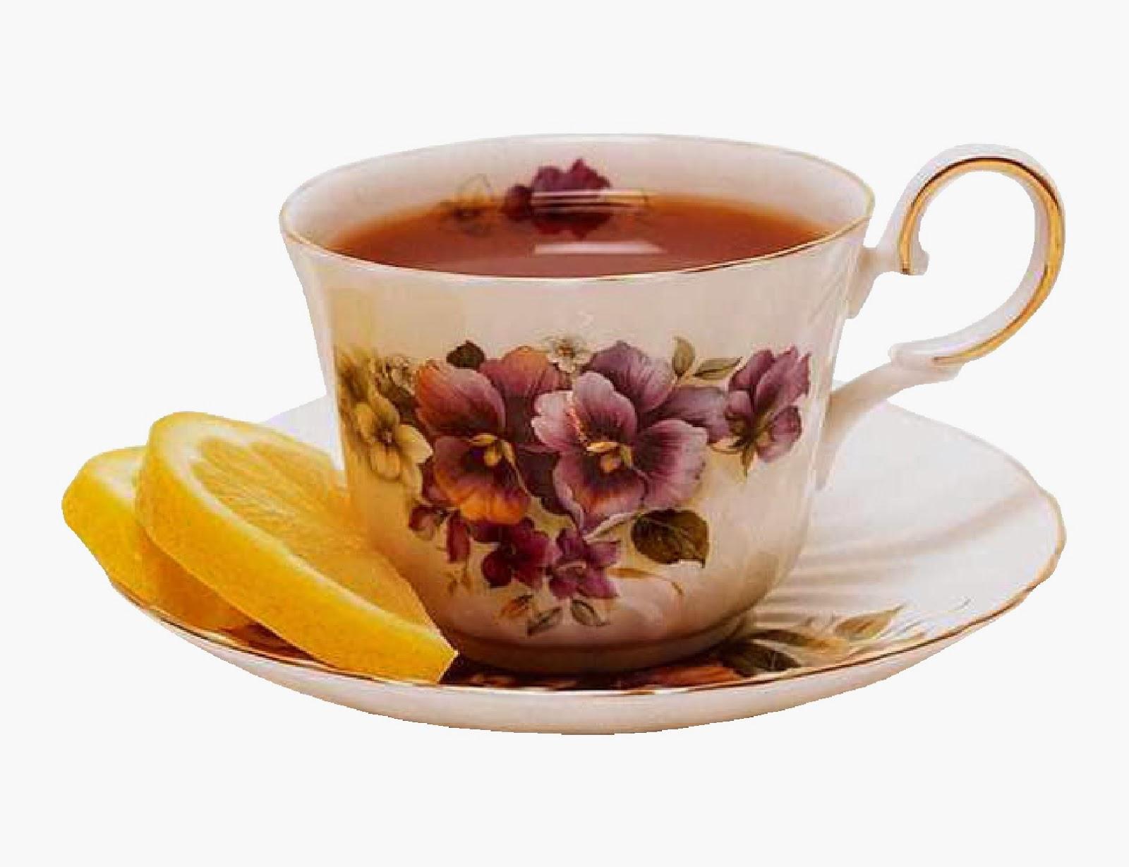 Открытки с чашкой чая