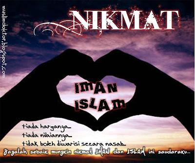 nikmat, tiada, tandingan, islam, iman, tangan, hati, love, cinta, Allah, islamik, nasihat, renungan, best