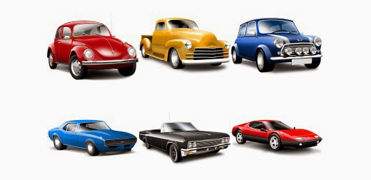 Classic Cars Icons
