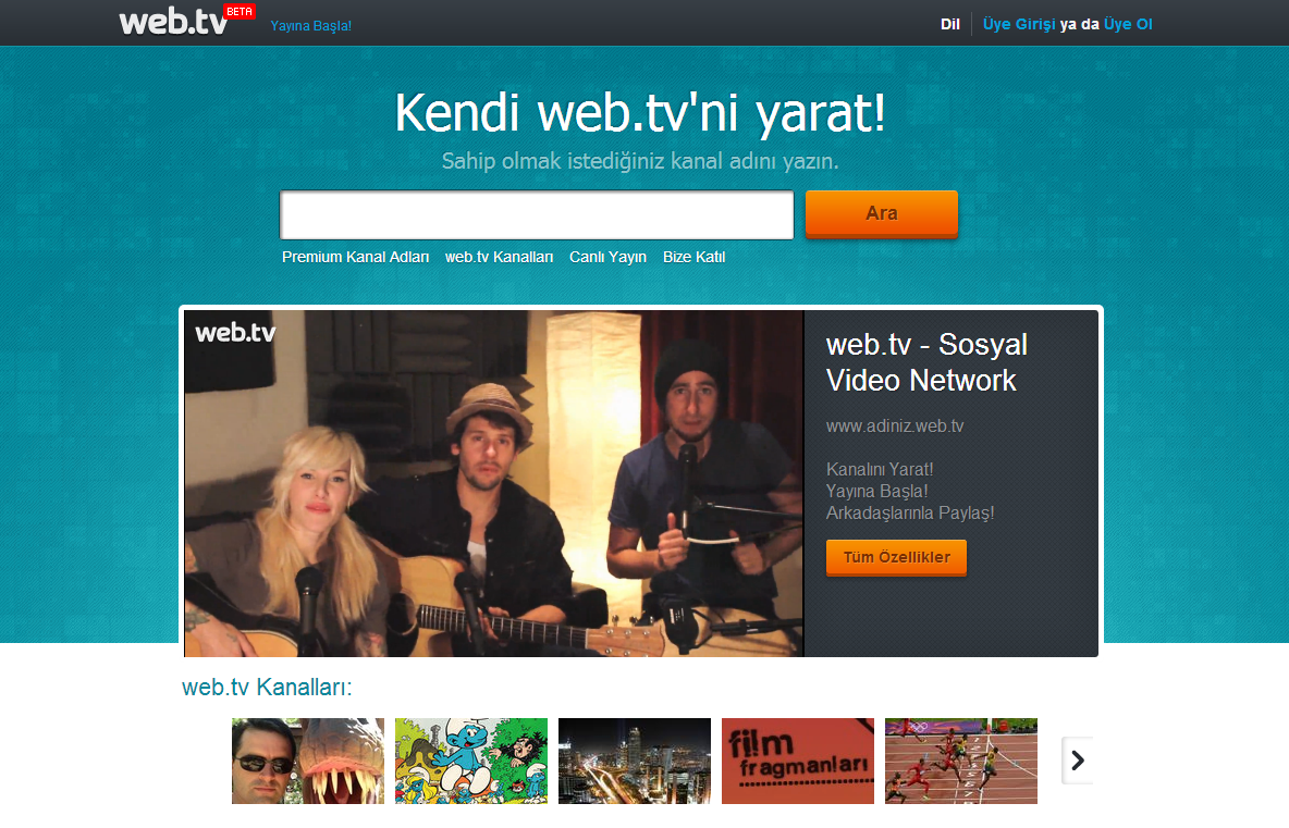 web-tv-ekran-goruntusu