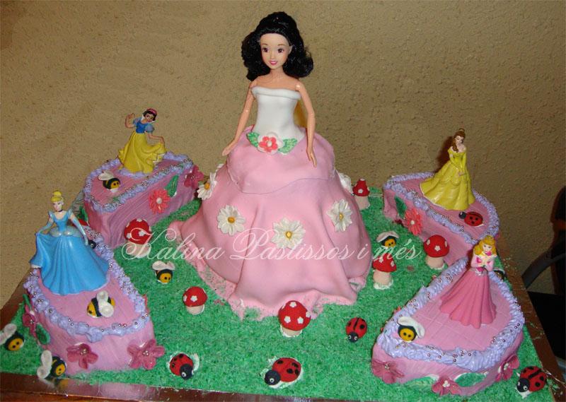 Pasteles de princesas Disney - Imagui