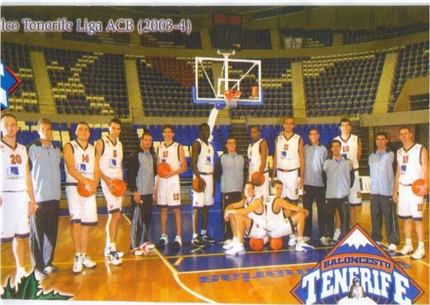 C.B. TENERIFE 2003-2004. Liga ACB