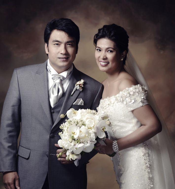 Bong Revilla and Lani Mercado Wedding Pictures - Showbiz Portal