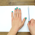She Started Tracing Her Hand With A Pen, Looks Boring? Watch Til The End, Completely Awesome!