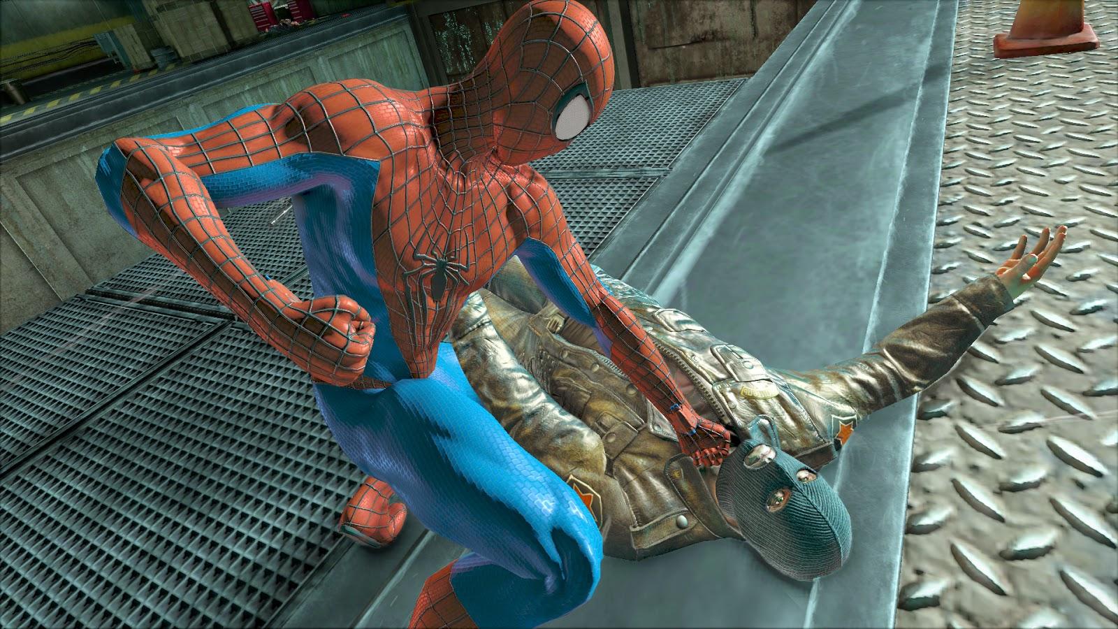 P Spiderman Games The Amazing Spider man 2
