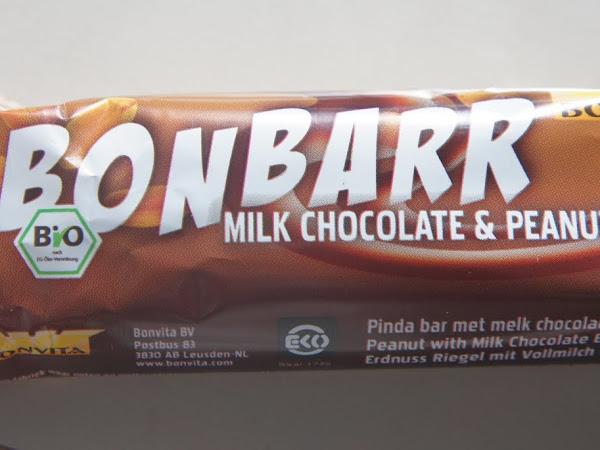 BONBARR: Erdnussriegel mit Vollmilchschokolade